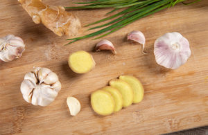 Chinese Food Ingredients-Green Onion Ginger Garlic
