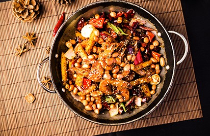 Mala Pot with Chinese Peppercorn and Start Anise-Chinese food ingredients
