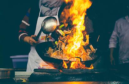 Chinese Stir Fry Cooking Ingredients